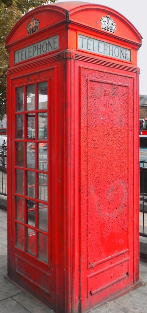 Základová fotografie zdarma na téma Londýn, telefon, telefonní budka