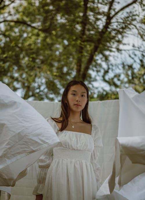 Gratis lagerfoto af afslapning, brud, bryllup, efterår