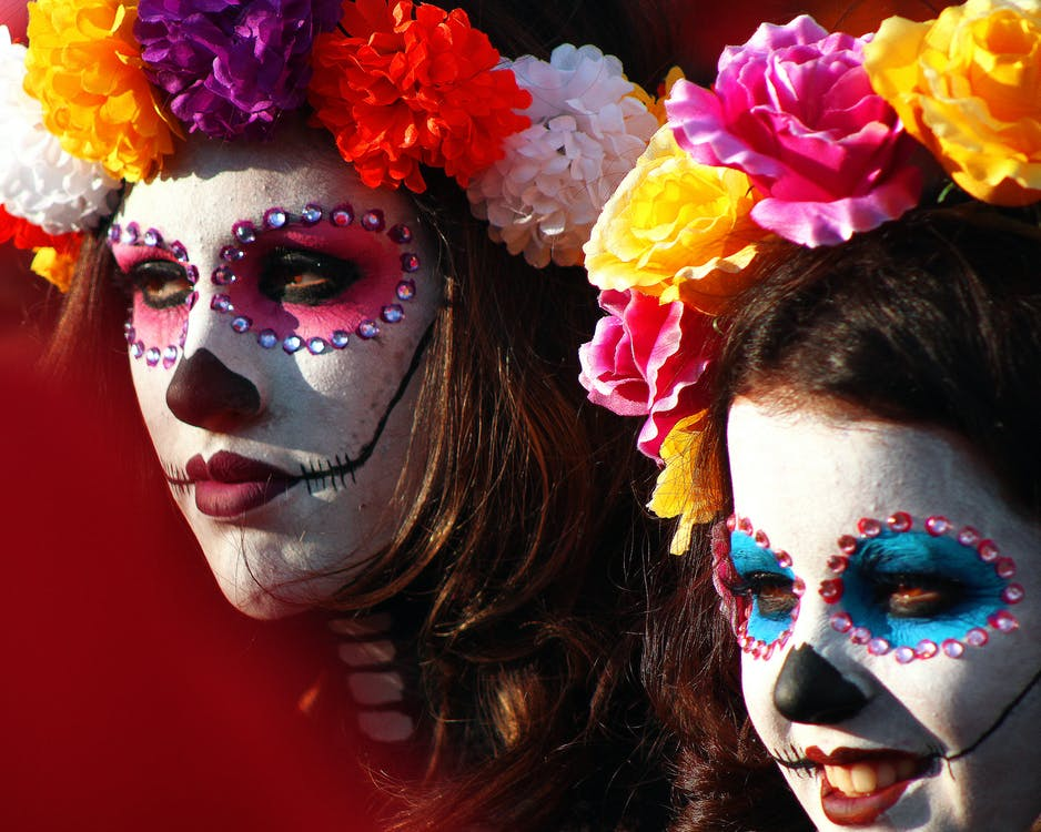 Free stock photo of catrina, colorful, día de muertos