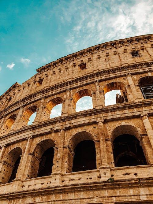 Kostenloses Stock Foto zu abgenutzt, alt, amphitheater