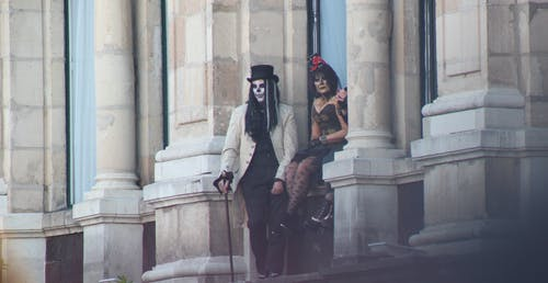 Free stock photo of costumes, dà a de muertos, day of the dead