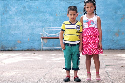 Free stock photo of colombia, color, kids