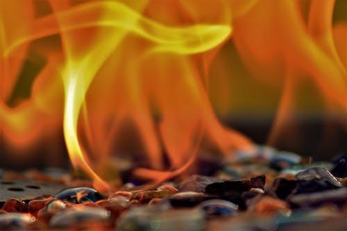 Close Up Photo of Burning Flame