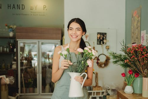 คลังภาพถ่ายฟรี ของ การจัดดอกไม้, การตกแต่ง, คนขายดอกไม้