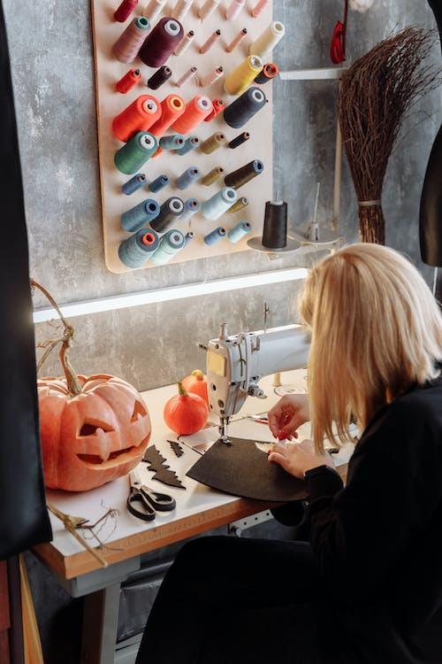 Making Halloween Decorations