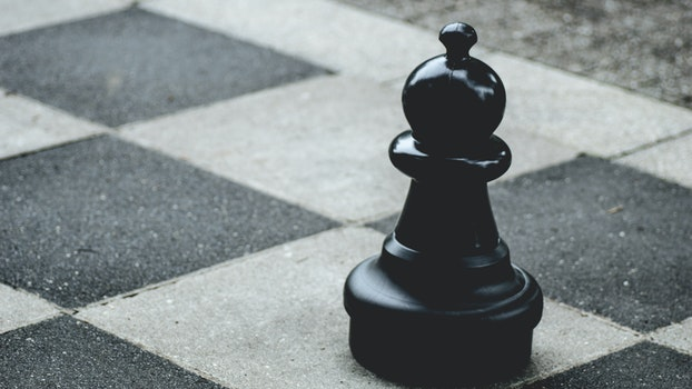 Free stock photo of close-up view, black, chess, chessman
