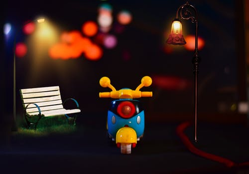 Free stock photo of at night, baby toy, car toy