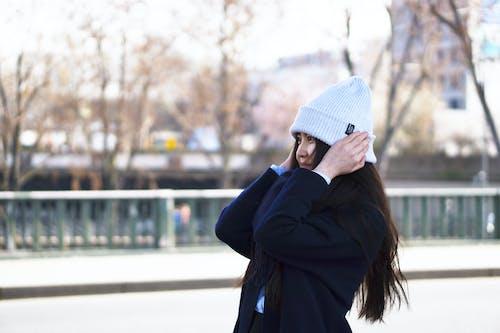 Photos gratuites de france, hiver, jeune fille, paris