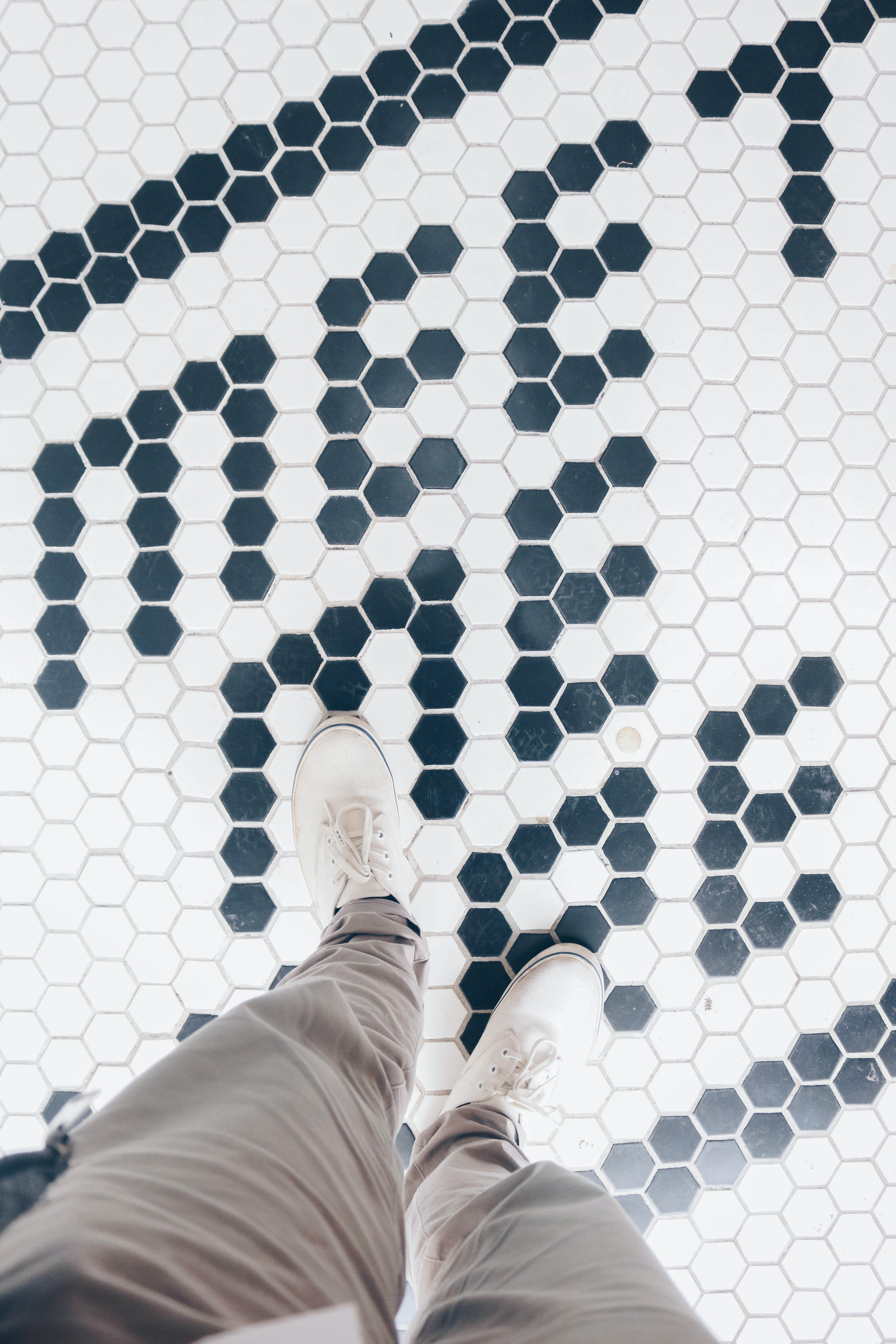 Free stock photo of shoes, white, above, walk