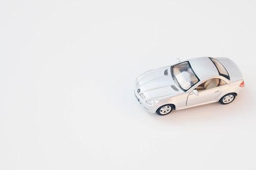 Free stock photo of car, white, mercedes, toys