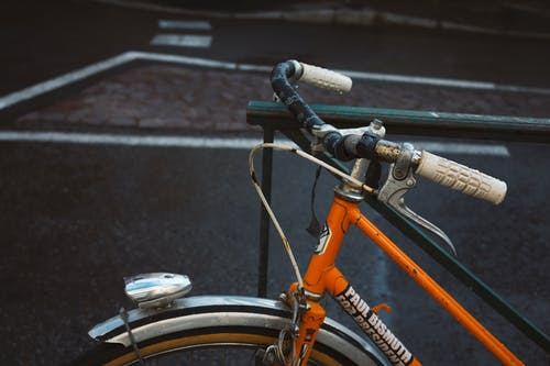 Free stock photo of asphalt, bicycle, city, color