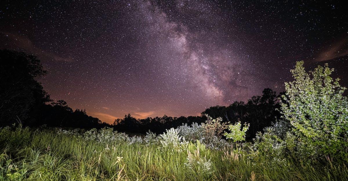 Ночное небо астрофото