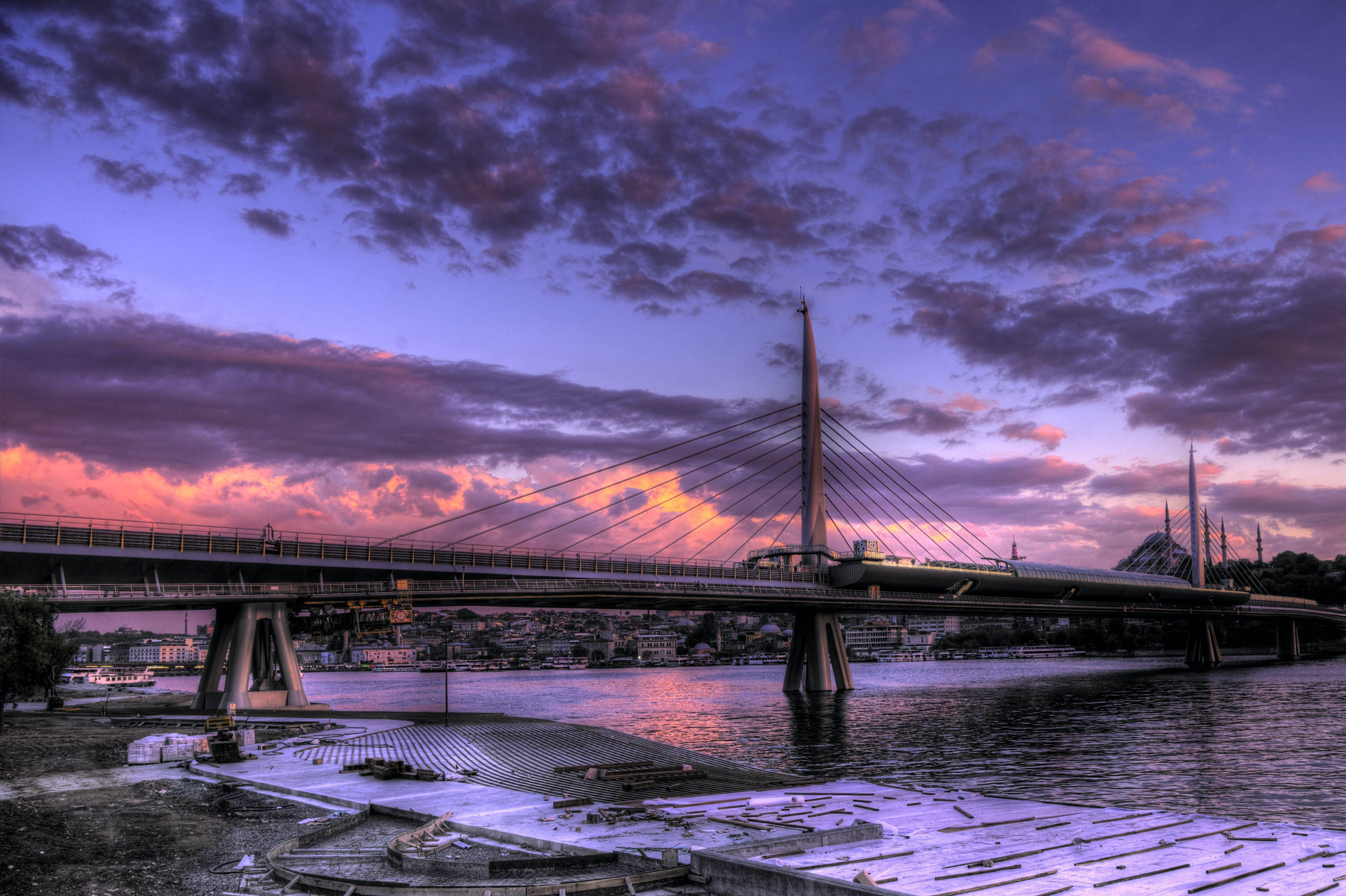 Black Bridge and River