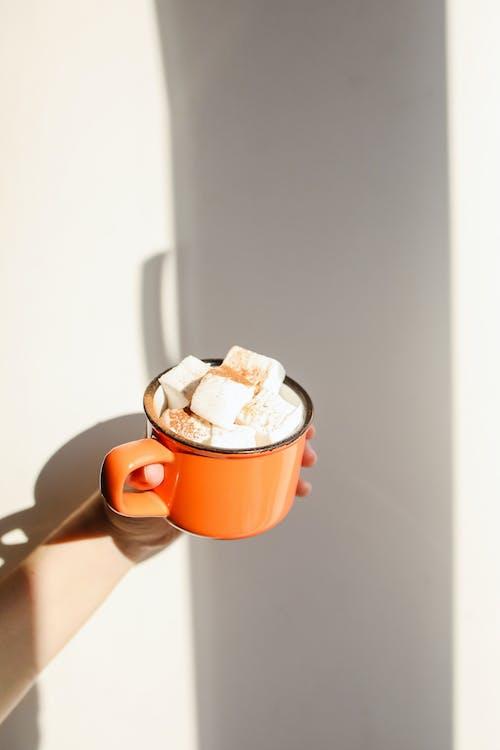 Pink Ceramic Mug With Ice Cream