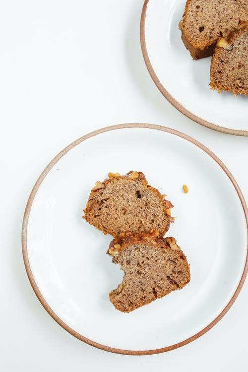 Fotobanka sbezplatnými fotkami na tému banánový chlieb, cesto, chlieb, chutný