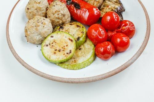 Fotobanka sbezplatnými fotkami na tému chutný, diéta, grilovaná zelenina, ingrediencie
