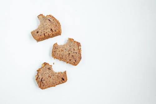 Fotobanka sbezplatnými fotkami na tému banánový chlieb, celý, cereália, chlieb