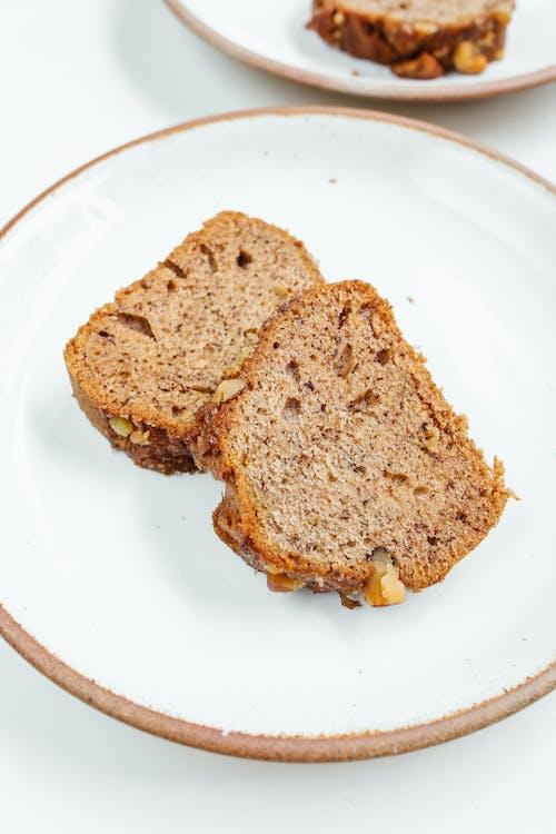 Fotobanka sbezplatnými fotkami na tému banánový chlieb, chlieb, chutný, čokoláda