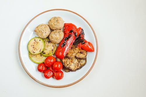 Fotobanka sbezplatnými fotkami na tému atraktívny, chutný, dráždivý, grilovaná zelenina
