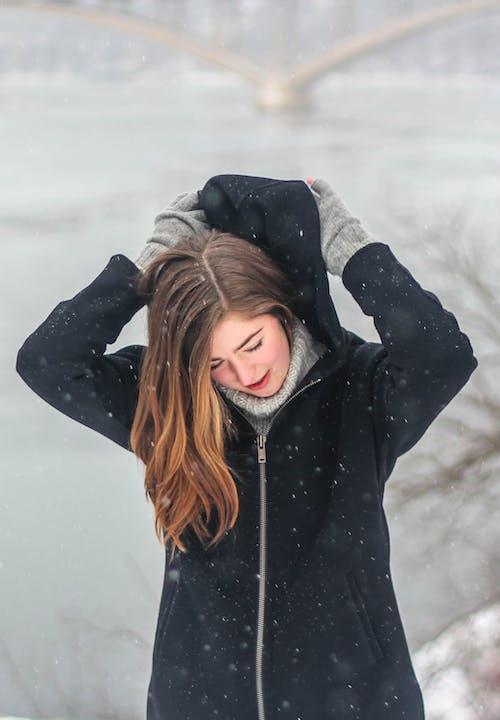 Fotobanka sbezplatnými fotkami na tému chladný, dáma, dievča, exteriéry