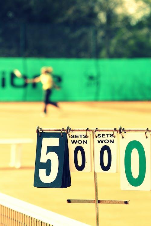 Free stock photo of score, tennis