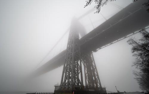 gwb, köprü, sis, sisli içeren Ücretsiz stok fotoğraf