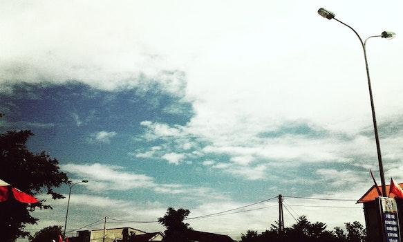 Free stock photo of photoshoot, çay, trời xanh, đám mây