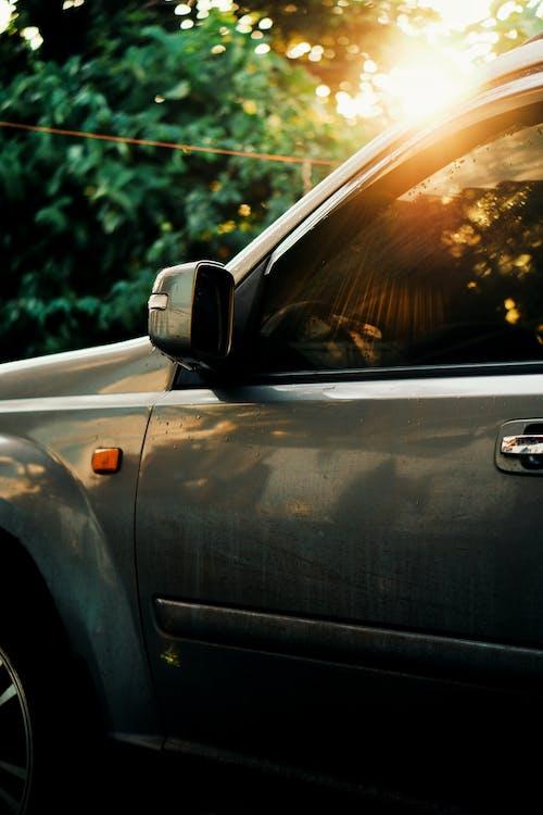 Бесплатное стоковое фото с автомобиль, Автомобильный, боковое зеркало, дверь