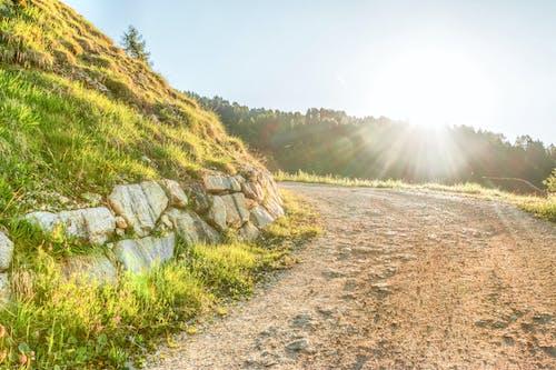Základová fotografie zdarma na téma denní světlo, HD tapeta, hora, kameny