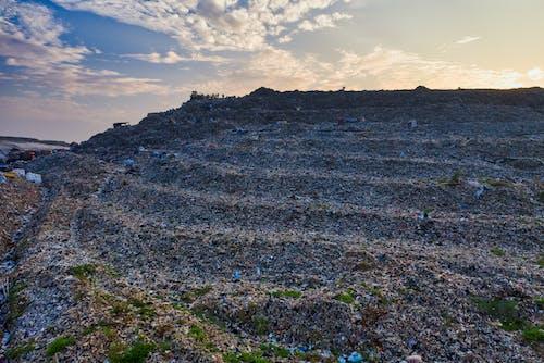 Mountain of Landfill during Dawn