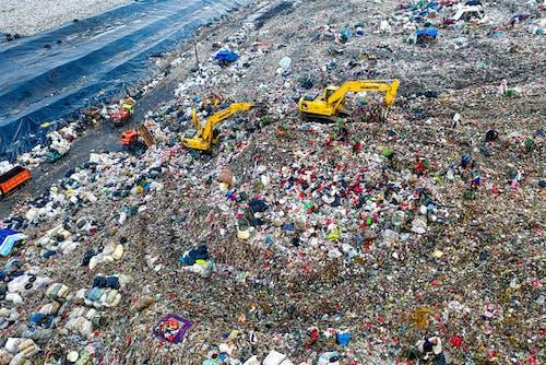 Aerial Footage of Dumpsite
