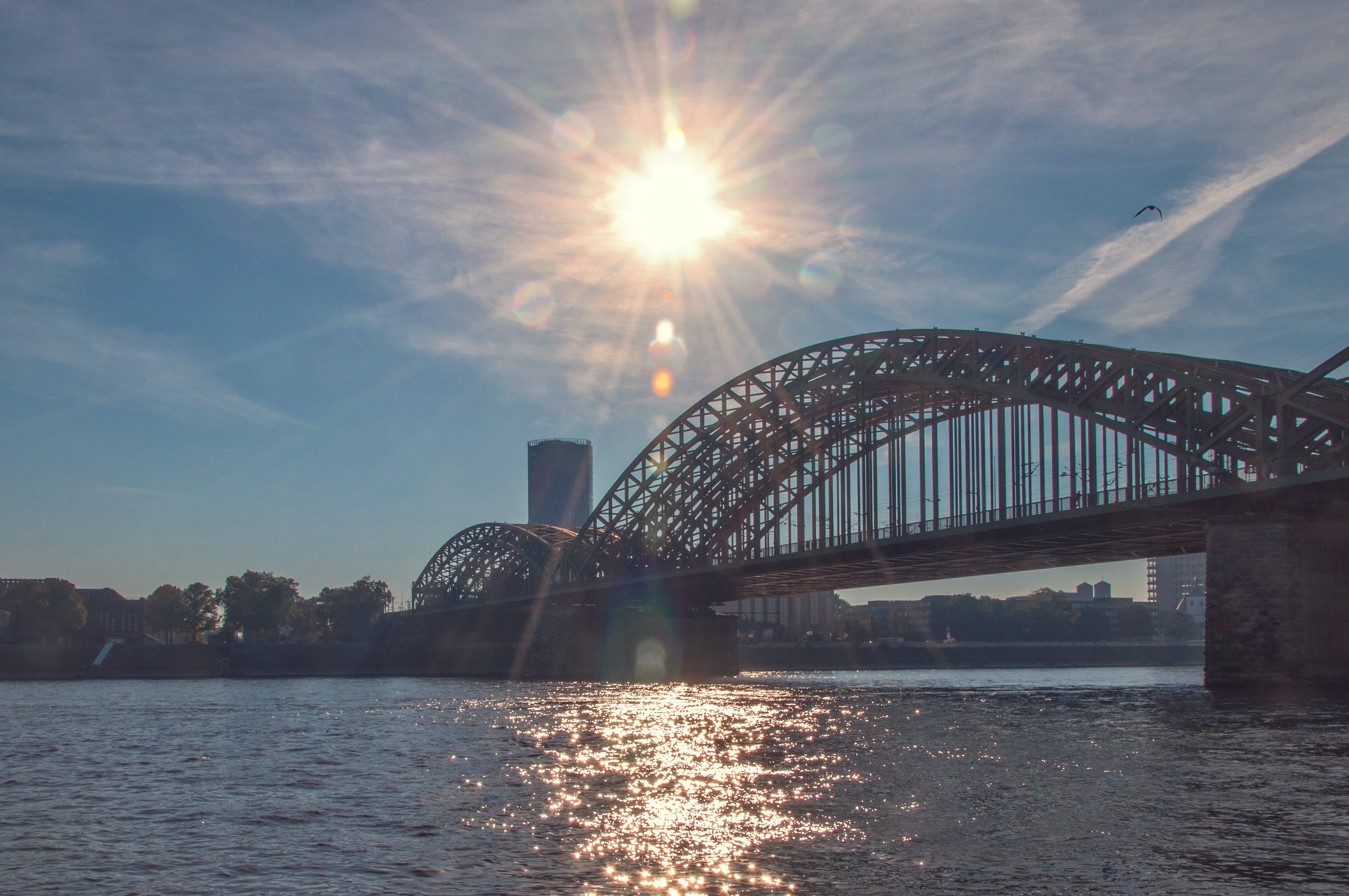 Základová fotografie zdarma na téma architektura, denní světlo, kolín, kolínský most