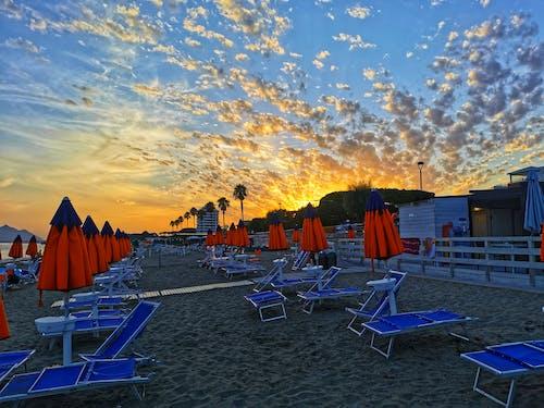 Free stock photo of beach, beach sunset, sky