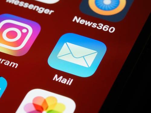 Eメール, iOS, ios 14の無料の写真素材