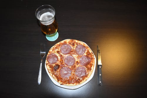 Gratis arkivbilde med pizza