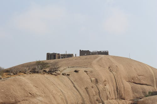 Free stock photo of fort, lONG sHOT OF fORT, ruins
