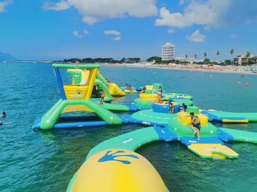 Free stock photo of acquapark, aquafun, gonfiabili