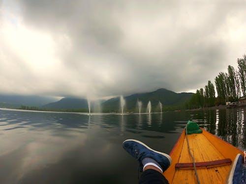 Free stock photo of boat, india, lake