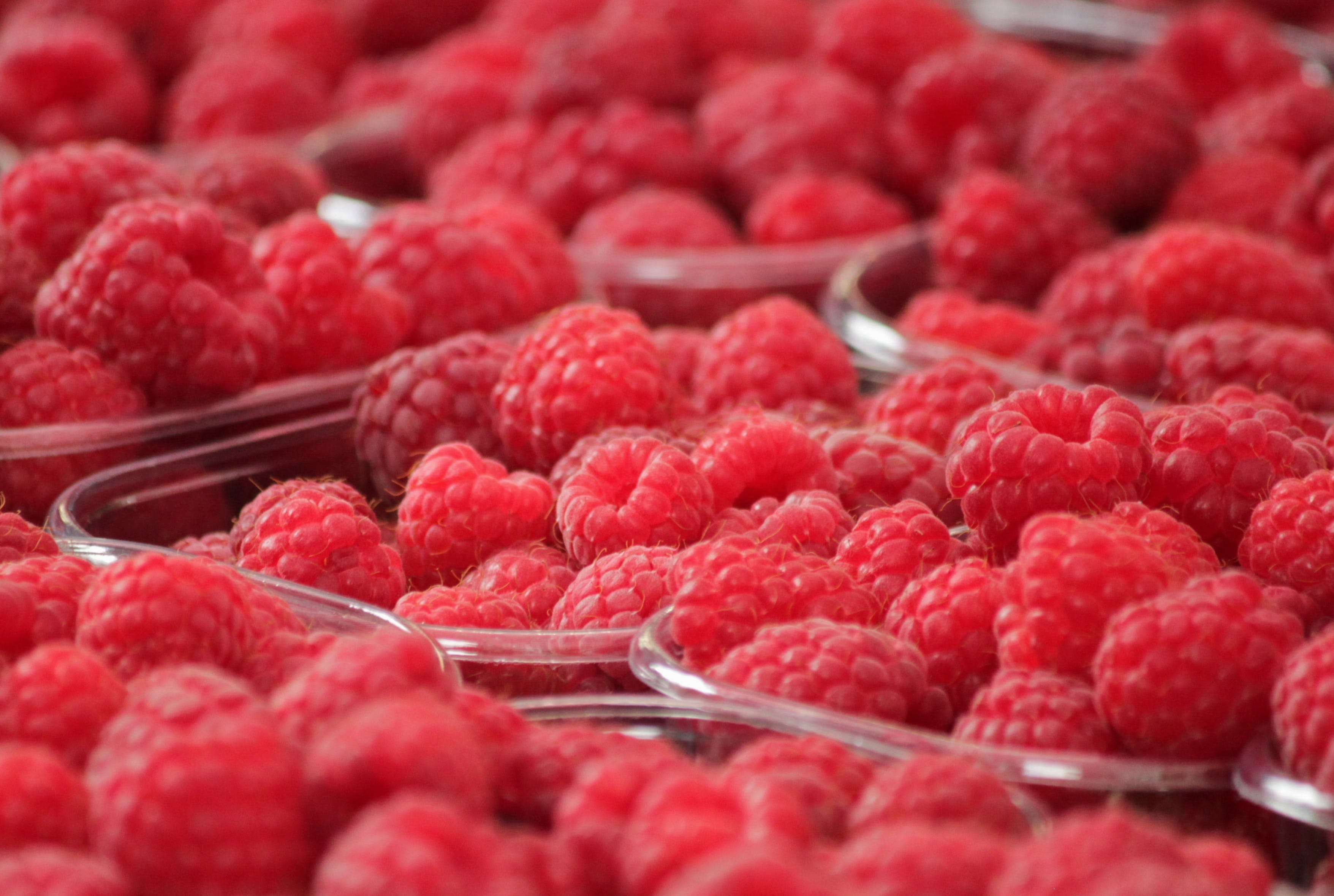 berries, bunch, close-up