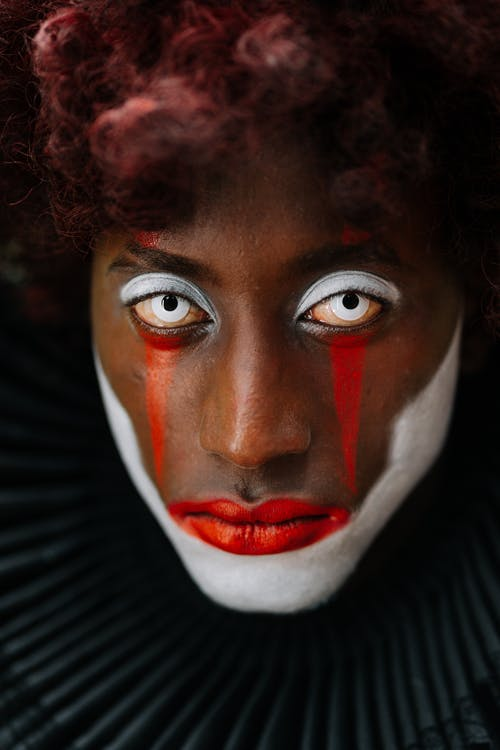 Foto d'estoc gratuïta de adult, afroamericà, ball de màscares, boo