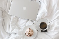 coffee, cup, apple