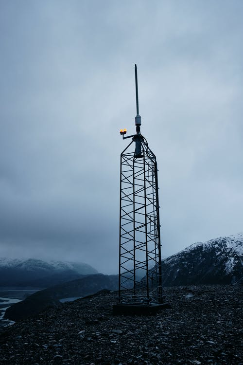 Person Standing on Tower