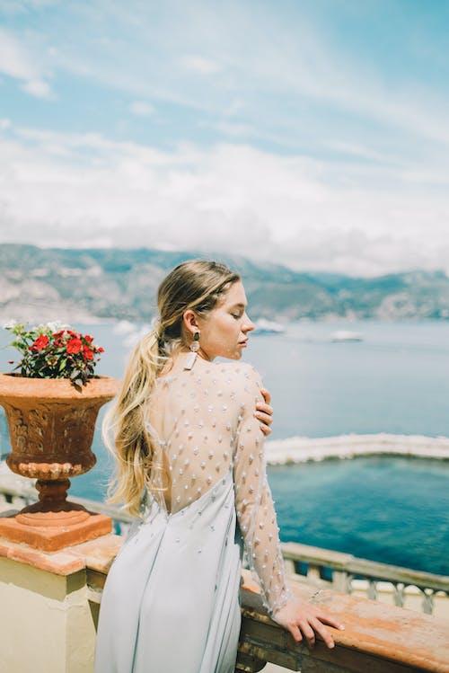 Foto d'estoc gratuïta de a l'aire lliure, aigua, boda, casament