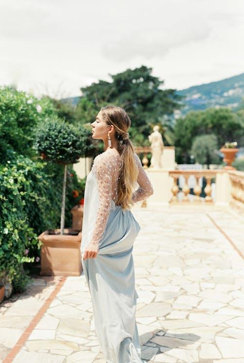 Foto d'estoc gratuïta de a l'aire lliure, adult, boda, casament