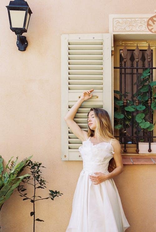 Imagine de stoc gratuită din blondă, elegant, farmec, fată