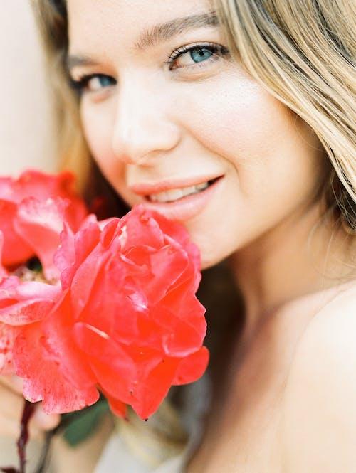 Imagine de stoc gratuită din adorabil, blondă, bucurie, buze