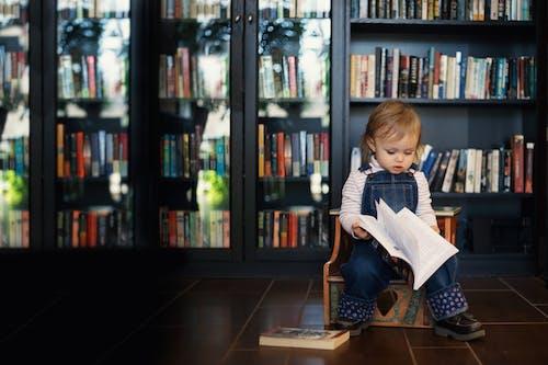 人, 兒童, 公共图书馆 的 免费素材图片
