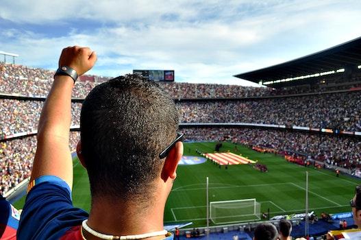 Free stock photo of man, people, stadium, spain