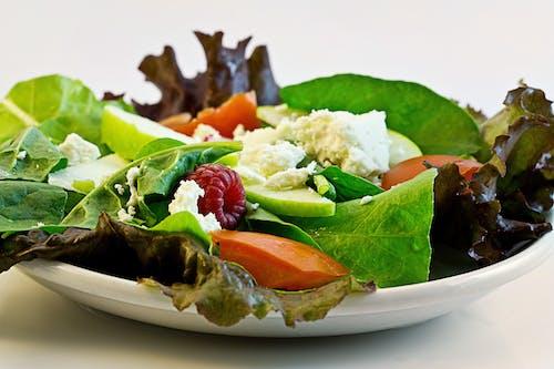 Ingyenes stockfotó egészséges, élelmiszer, saláta, zöldségek témában
