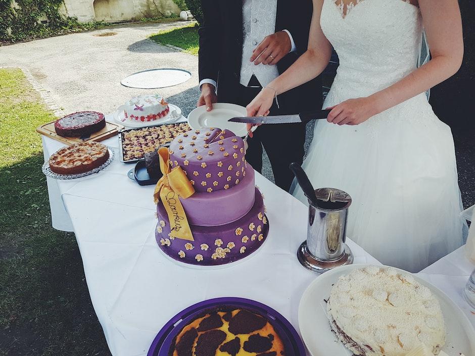 adult, baking, bride